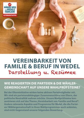 Deckblatt Wahlprüfsteine 2018_Elterninitiative Wedel