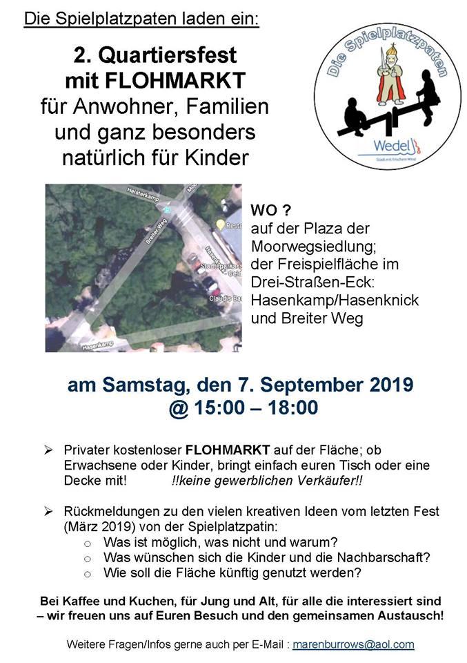 Quartiersfest Hasenkamp Webseite